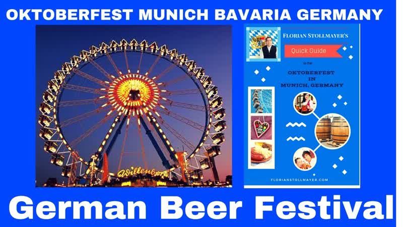 Carnival rides and Carousel OKTOBERFEST Munich 19 GERMAN BEER FEST