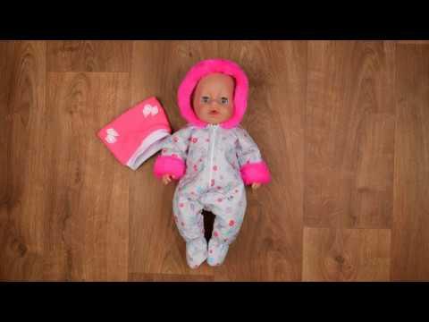 Примеряем зимний комбинезон КуклаПупс на Baby Born Zapf Creation 43 см