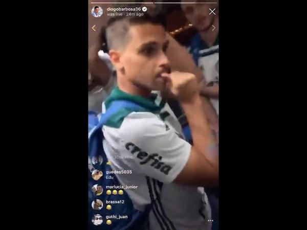 Diogo Barbosa zoa Atlético