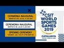Cerimònia Inaugural Opening Ceremony ▶ WORLD SPORTS GAMES TORTOSA 2019
