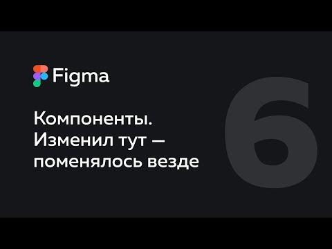 Figma — компоненты. Как делать гибкие макеты.