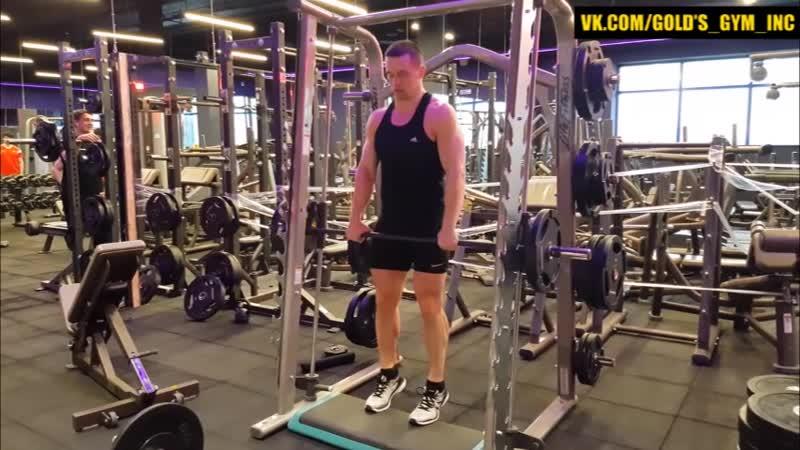 Божественное упражнение для Икроножных Мышц Икры базуки mp4