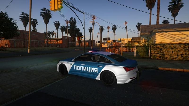 2019 Audi A6 C8 Federal Tax Police Service