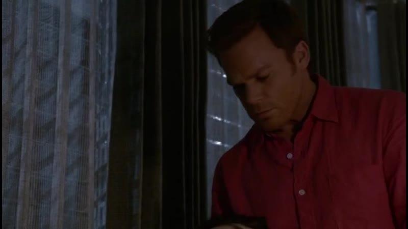 Saxon kills Zach in Dexter's apartment