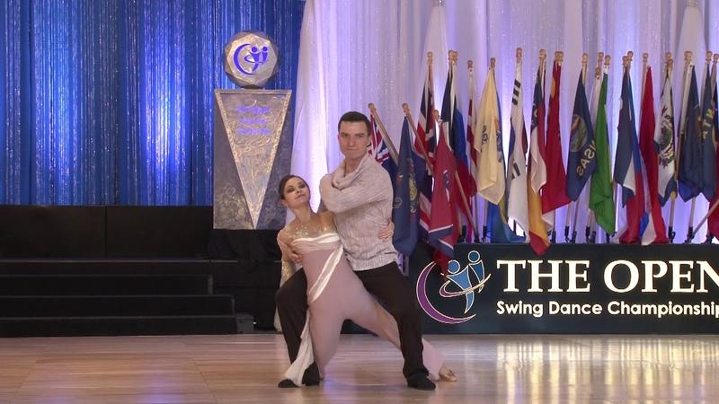 Semion Ovsiannikov Maria Elizarova The Open 2018 Classic 2nd Place