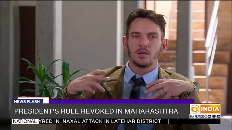 Special Programme on IFFI 2019 Discussion with Jonathan Rhys Meyers