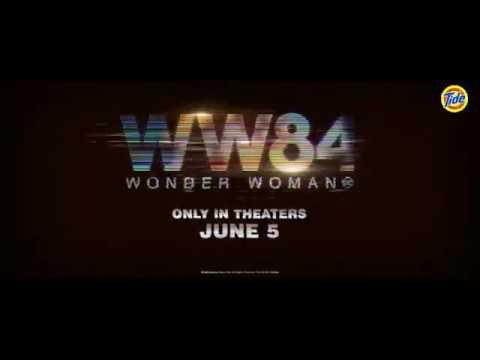 Mulher-Maravilha 1984 Tv Spot de Propaganda do Super Bowl (DC WW84MM84WONDER WOMAN)
