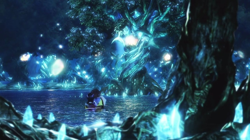 Final Fantasy X HD Remaster - Tidus Yuna Love Scene