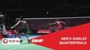 QF | MS | Kento MOMOTA (JPN) [1] vs. Anthony Sinisuka GINTING (INA) [7] | BWF 2019