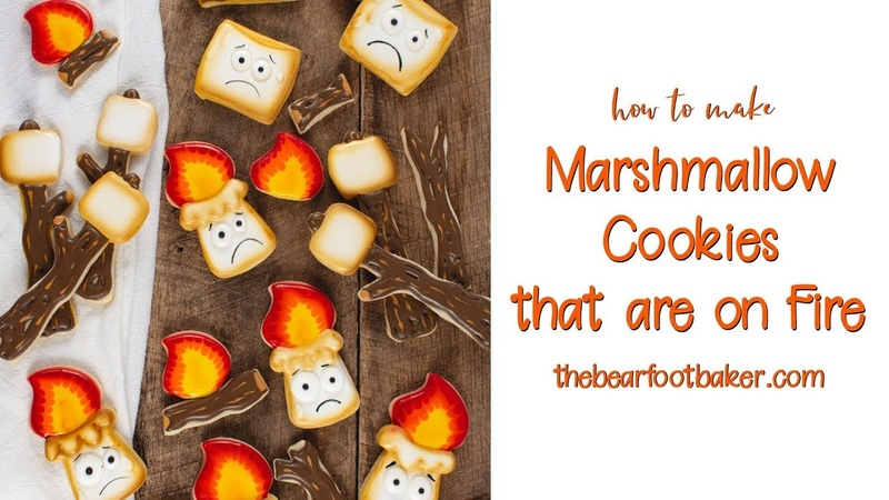 How to Make Marshmallow Cookies that are on Fire | The Bearfoot Baker
