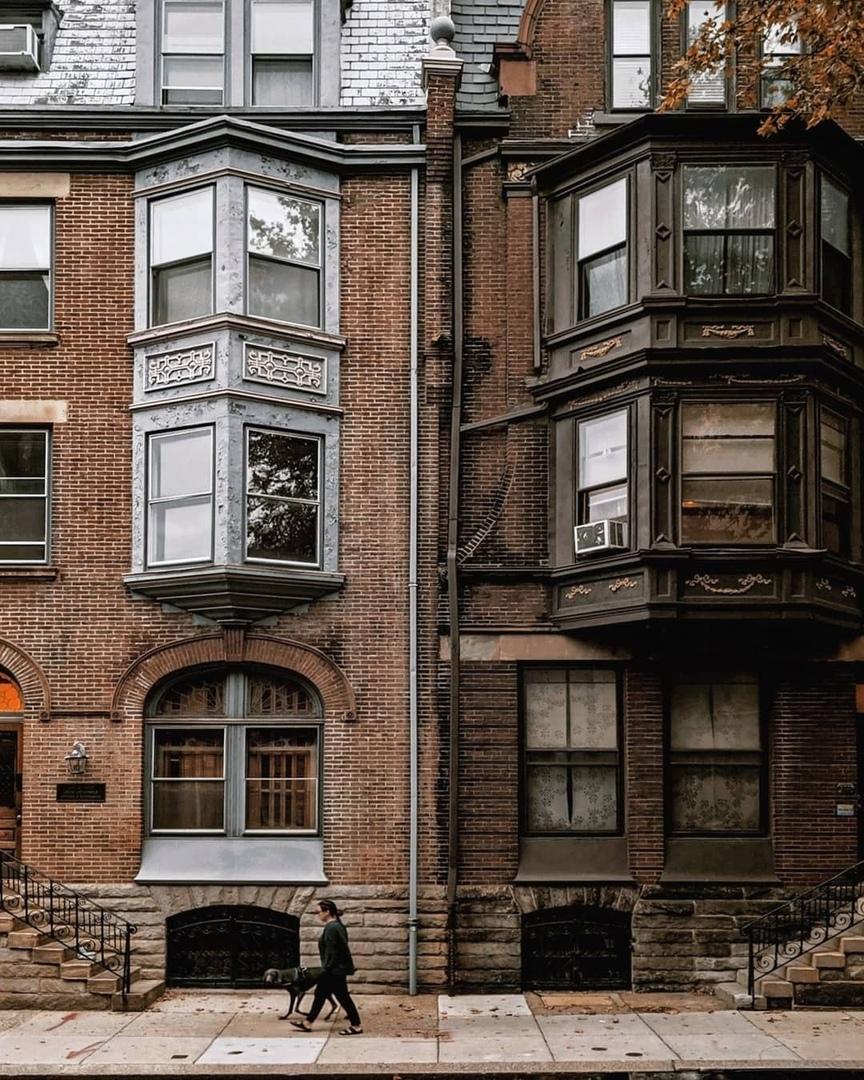 Эстетика кирпичных домов