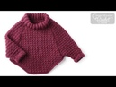 Crochet Curvy Pullover for Kids, 2, 6 or 8 YRS Old