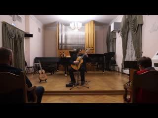 Н. паганини. соната ми минор. paganini sonata e-moll op.6 no3