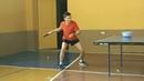 12.09.2019 - Топ спин справа, slow motion. Top spin, table tennis