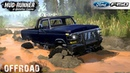 Spintires MudRunner 1979 FORD F150 SULLEY Driving through Deep Marshes and Deep Puddles