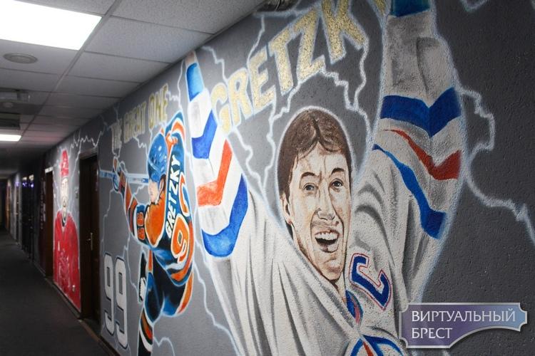 Подтрибунка хоккейного «Бреста» самая крутая в Беларуси. Не верите? Смотрите!