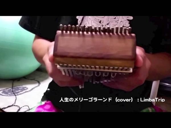 アフリカの民族楽器カリンバで「人生のメリーゴーランド」(久石譲)を284