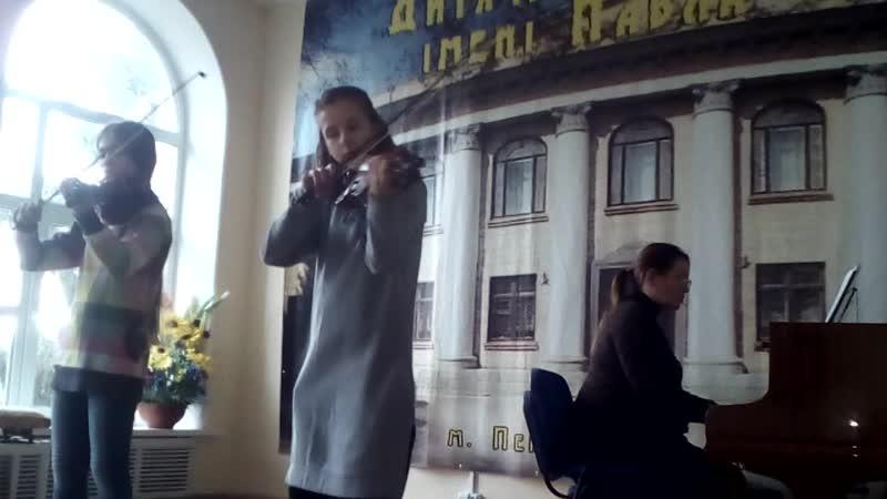 Вероніка Колос і Марія Супрун. У.н.п. Зоре моя вечірняя. (Обр. та перекл. Ю.Павленка). (16.11.2019)