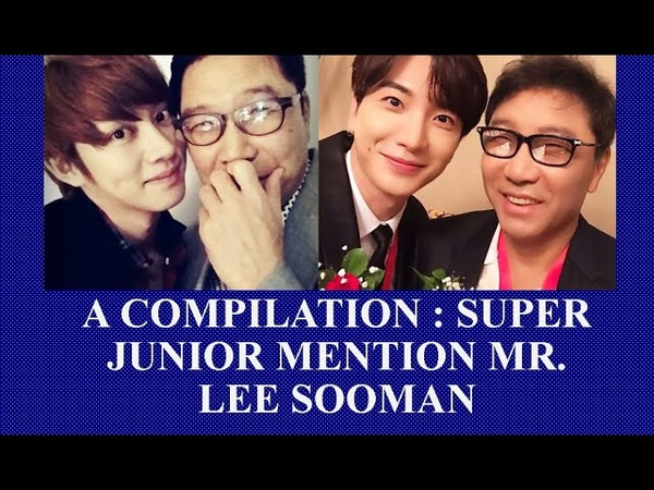 Super Juniors Love for Lee Sooman