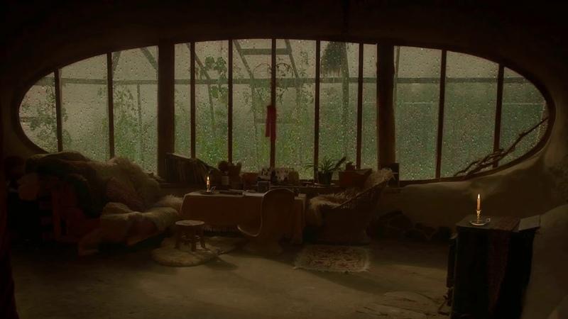 3 HOURS Heavy Rain for Sleep Rain Downpour Outside Patio Window Study and Relaxation