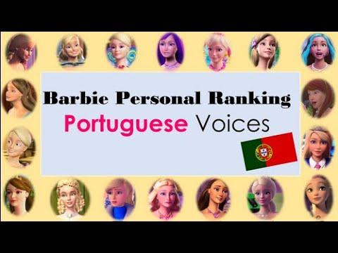 Barbie Personal Ranking Eu. Portuguese Voices [Vozes Portuguesas de Portugal]