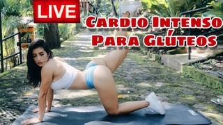 🚨 LIVE | Cardio Intenso Para Glúteos 🍑 | Anabella Galeano