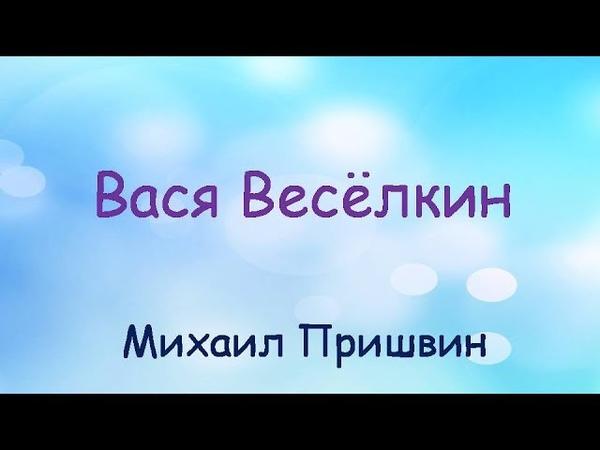 Аудиосказка Вася Весёлкин слушать онлайн Михаил Пришвин Аудиокнига