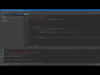 Язык программирования Java - урок №30 (Исключения, оператор throw, создание классов исключений)