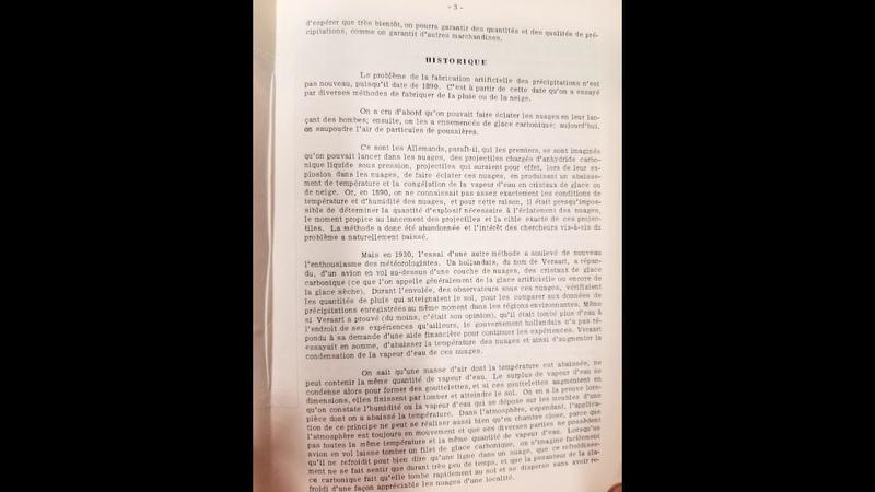 1890 1961 La Fabrication Artificielle des Pluies Québec