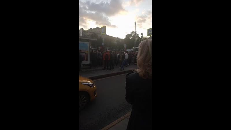 митингаЗасвободу допускай на Китай городе ч.4 Твиттер упал