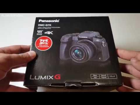Panasonic Lumix DMC-G7 KIT Распаковка | Panasonic G7 Kit Unpacking
