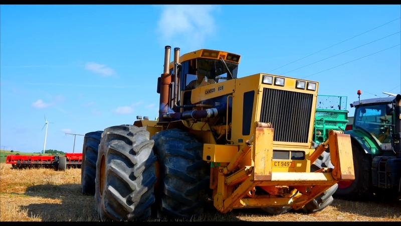 LE PLUS GROS TRACTEUR DEUROPE | CAMECO 805 BTT | QUIVOGNE 12 M | the biggest tractor in Europe |