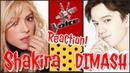 Димаш шоу Голос Шакира в шоке SOS Версия Спортманн