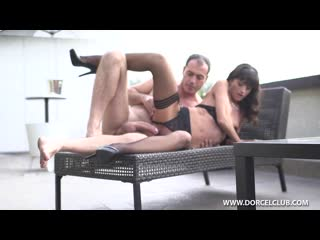 Ava Courcelles get multi orgasm on plan if porn movie [Brunette, Natural Tits, High Heels, Stockings, Orgasm, Condom, Hardcore]