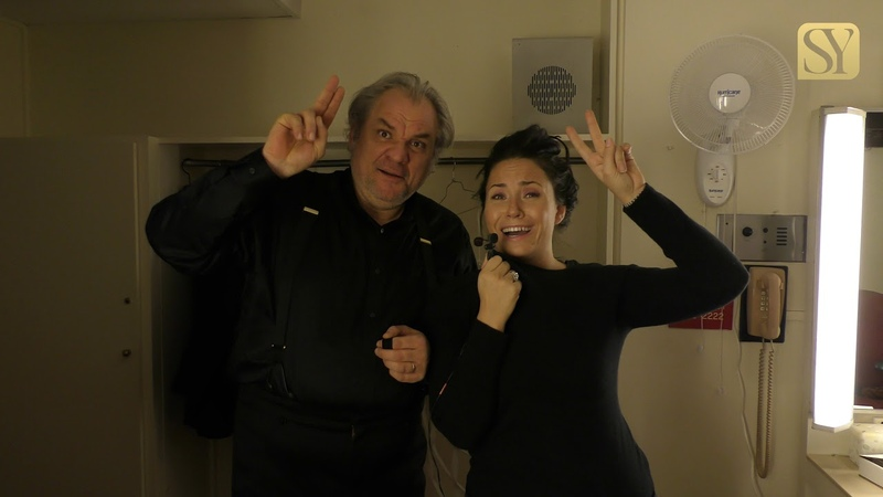 Backstage with Sonya Yoncheva Otello at the Met