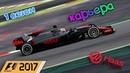 F1 2017 КАРЬЕРА 1 СЕЗОН - БАХРЕЙН ГОНКА 8
