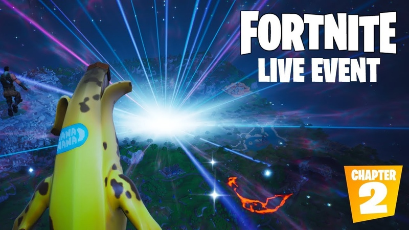 FORTNITE SEASON 10 LIVE EVENT THE END OFFICIAL VIDEO (CHAPTER 2)