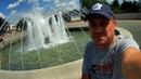 Гуляем у фонтана Санаторий Вёшенский