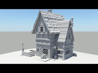Autodesk Maya 2014 Tutorial Old House Modeling Part 7