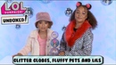 UNBOXED!   LOL Surprise! Winter Disco Glitter Globe, Fluffy Pets and Lils   Season 4 Episode 12