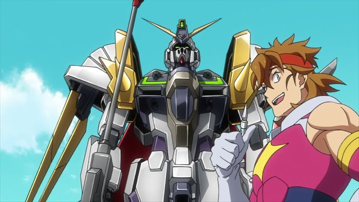 [HaronMedia] Gundam Build Divers Re Rise 1 серия