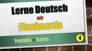 4 Lerne Deutsch mit Flashcards
