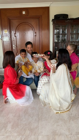 """Shrima Rai 🇮🇳🇺🇸 on Instagram: """"Raksha Bandhan is celebrated by us more for the remembrance of sibling love .. and blessings. A little glimpse into ..."""