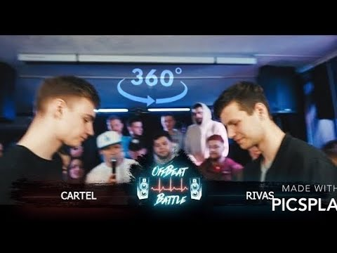 CARTEL VS RIVAS - OffBeat Battle Season II 14 VR360°