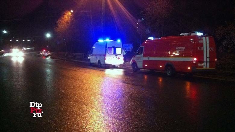 Пешехода сбили на одном из перекрестков Петрозаводска
