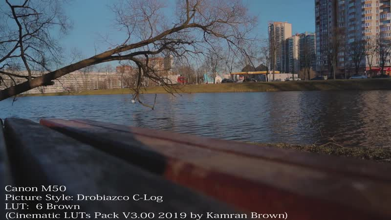 Canon M 50 Lens 15mm ND Filtre Hoya Picture Style Drobiazco C Log LUT 6 Brown by Kamran Brown