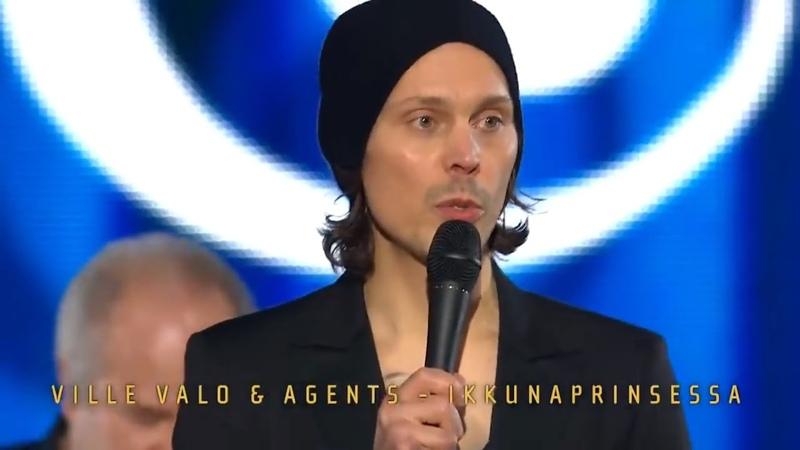 Emma Gaala 2019 02 02 Ville Valo Agents esitti Emma Gaalassa kappaleen Ikkunaprinsessa