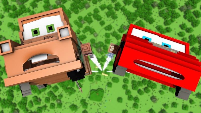 Disney Pixar's Cars in Minecraft 3 Animation