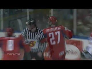 ЧМ по хоккею 2008.Финал .Квебек , Канада-Россия