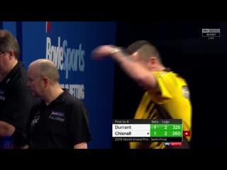 Glen Durrant vs Dave Chisnall (PDC World Grand Prix 2019 / Semi Final)